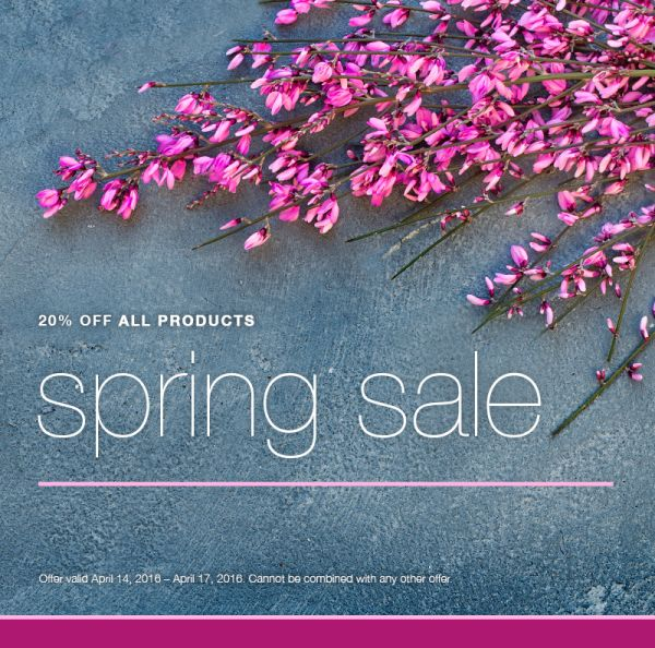 Spring sale 4 14 4 17 jean madeline salon for Adolf biecker salon