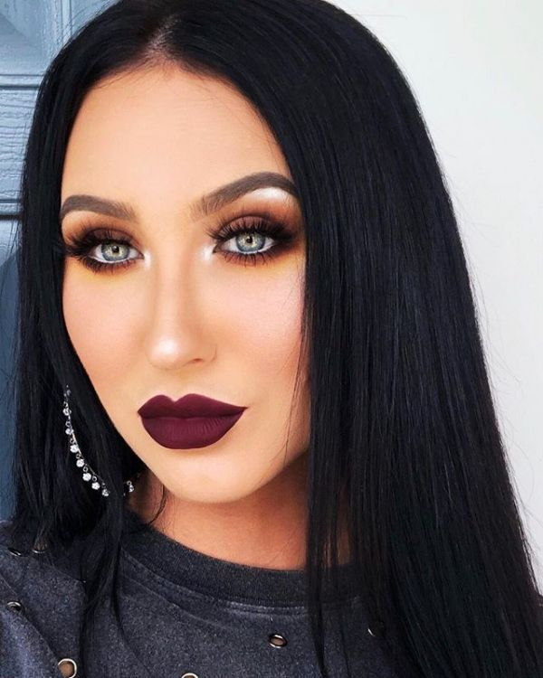jaclyn hill smoky eye look from instagram
