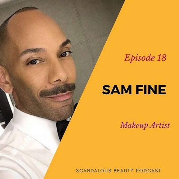 Sam Fine's scandalous makeup podcast
