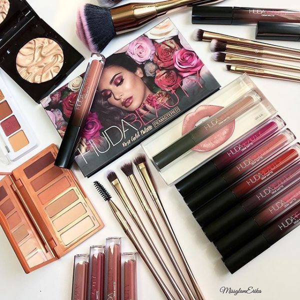 huda beauty products from instagram