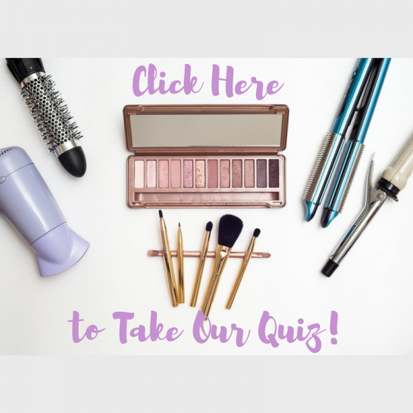 Makeup and hair products for should you go to beauty school quiz